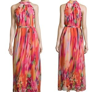 Romeo & Juliet Couture Belted Maxi Dress